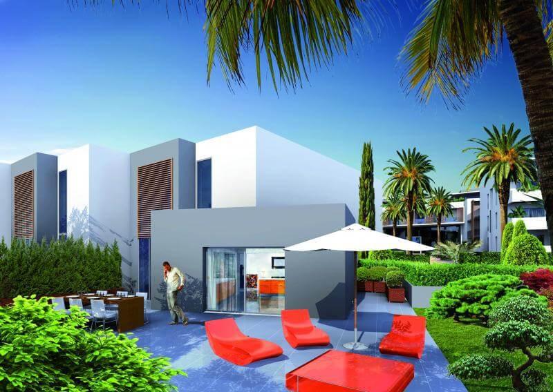 Terrasse d'appartement résidence Movida