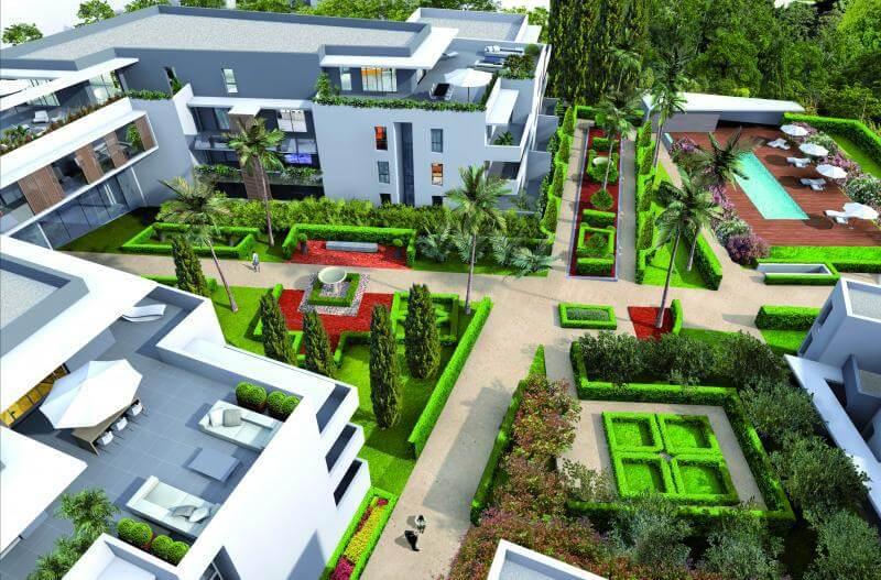 Jardin résidence Movida