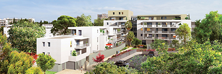 Residence City Zen, programme Bacotec a Montpellier