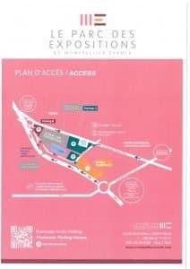 Plan parc des expositions