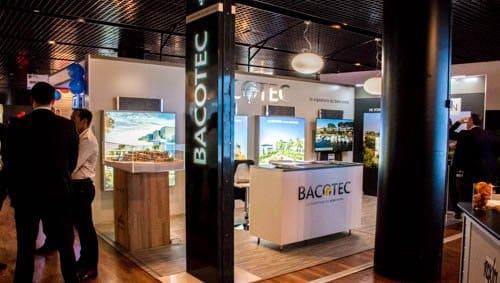 Le stand de Bacotec au salon de l'immobilier