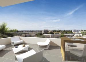 T4 neuf duplex terrasse résidence