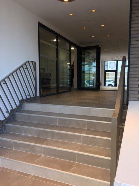 Escalier d'un programme Immobilier
