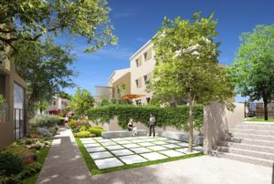 East village programme immobilier neuf sur St Jean de Vedas