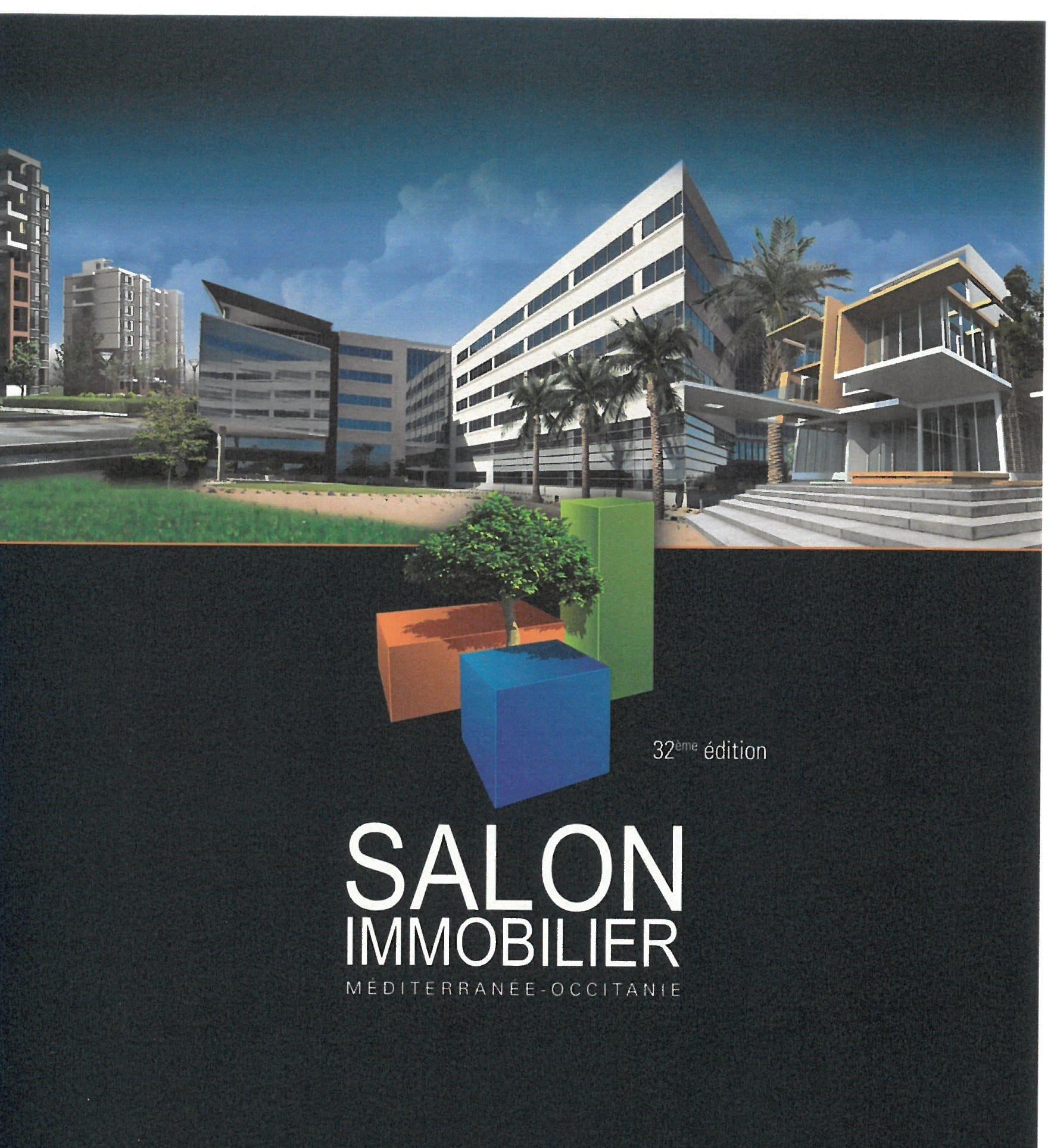 Salon de l'immobilier Méditerranée Occitanie 32e édition