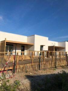 Marina Lodge, résidence en construction sur Vias Plage