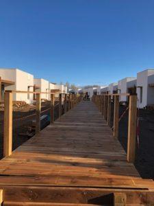 Chantier de Marina Lodge situé à Via Plage
