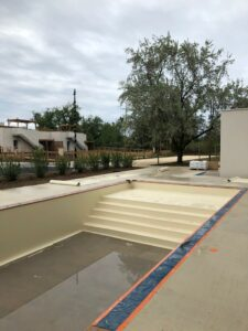 Construction de Marina Lodge sur Vias Plage