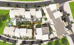 Plan masse East Village