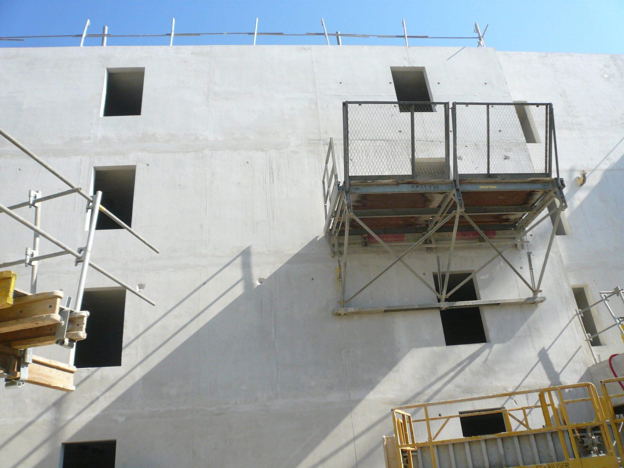 Chantier de East Village sur ST Jean de Vedas réalisé en mars 2021