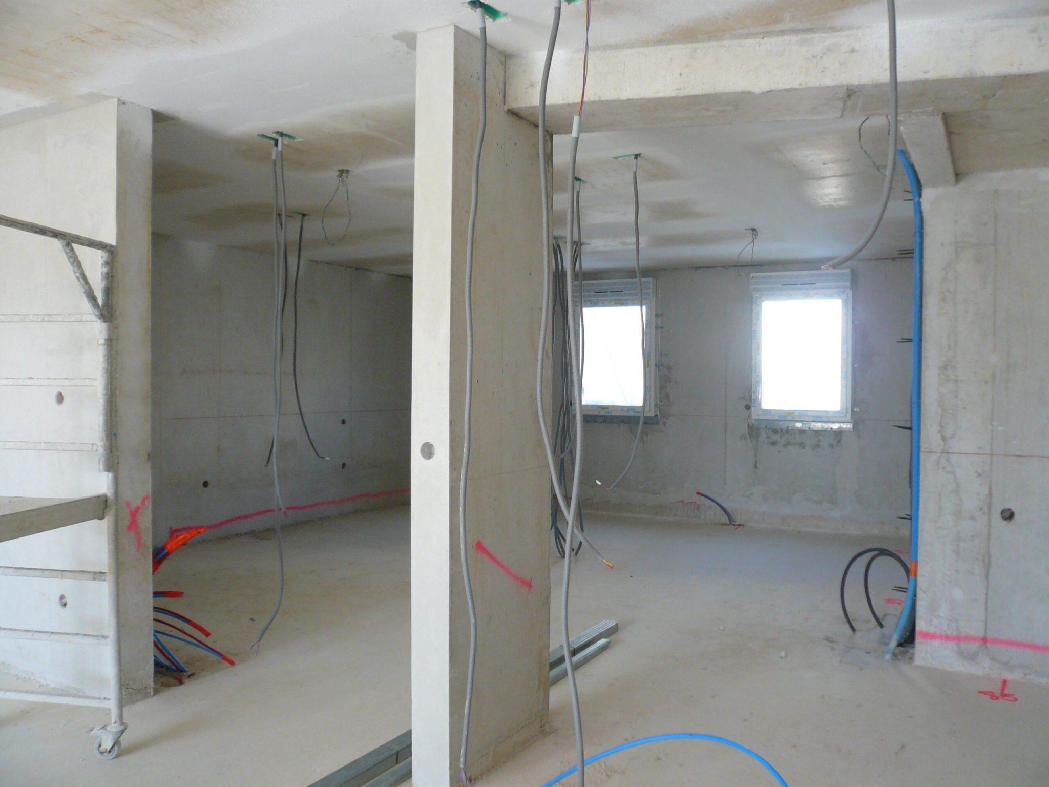 Construction intérieure de la résidence East Village sur St Jean de Vedas