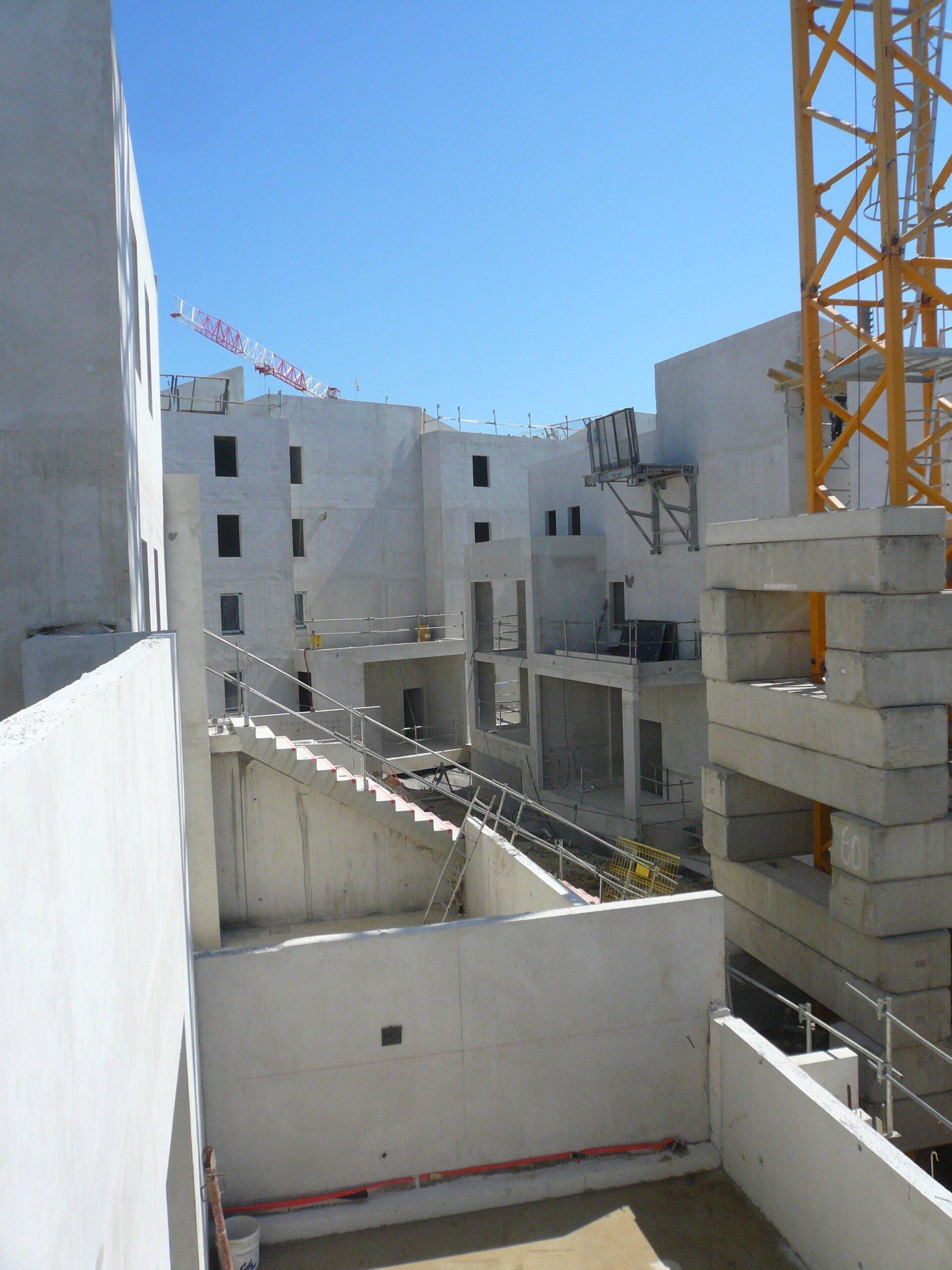 Construction de la résidence East Village sur St Jean de Vedas