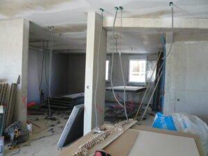 Habitation en chantier de East Village situé sur St Jean de Vedas