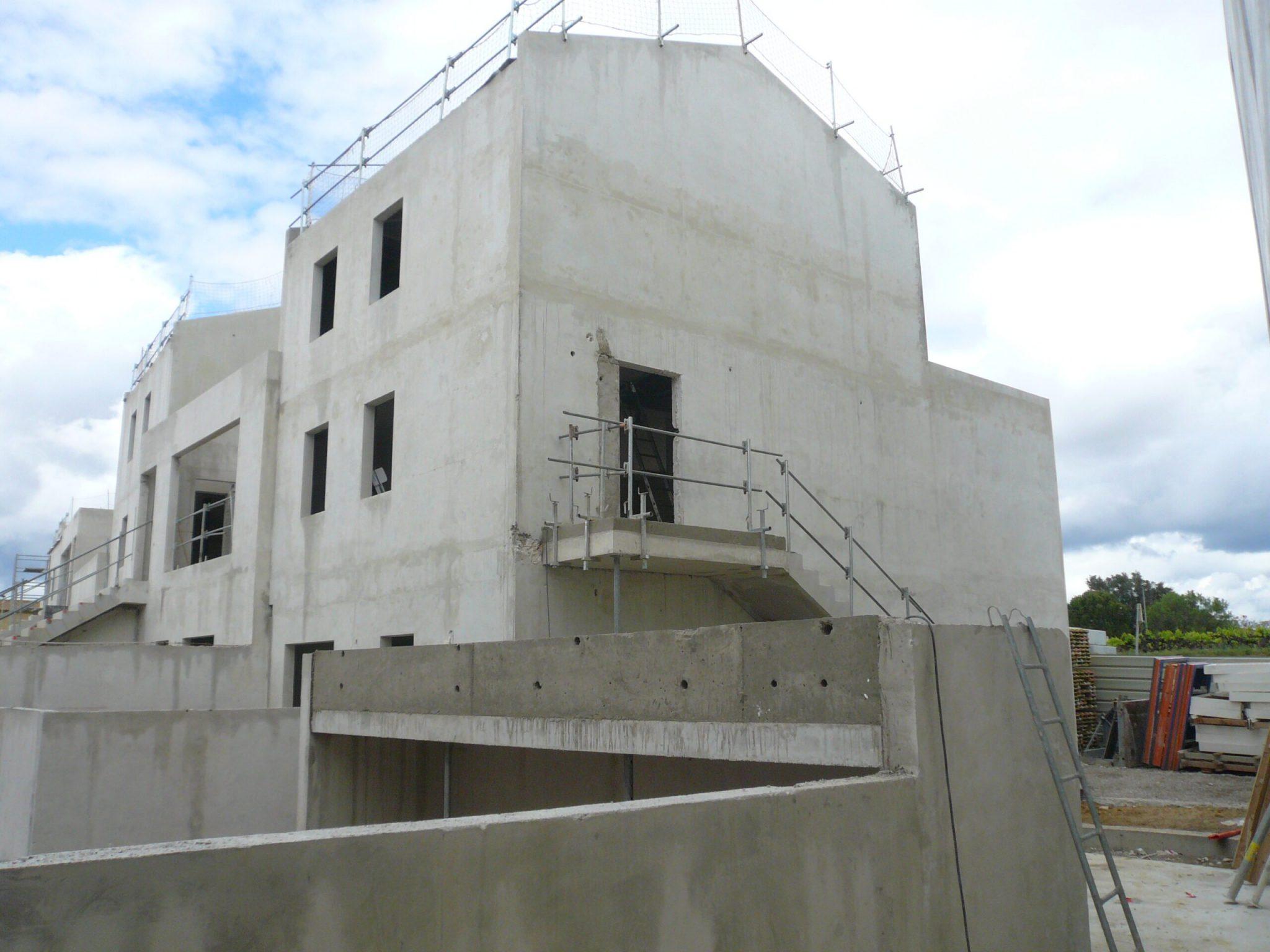 Chantier de East Village programme immobilier neuf sur St Jean de Vedas