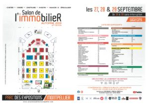 Plan du salon de l'immobilier