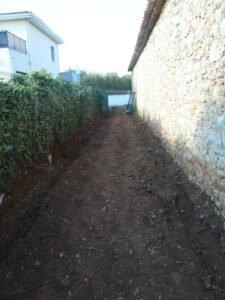 Allée de l'Echappée Belle, résidence en construction sur Juvignac près de Montpellier