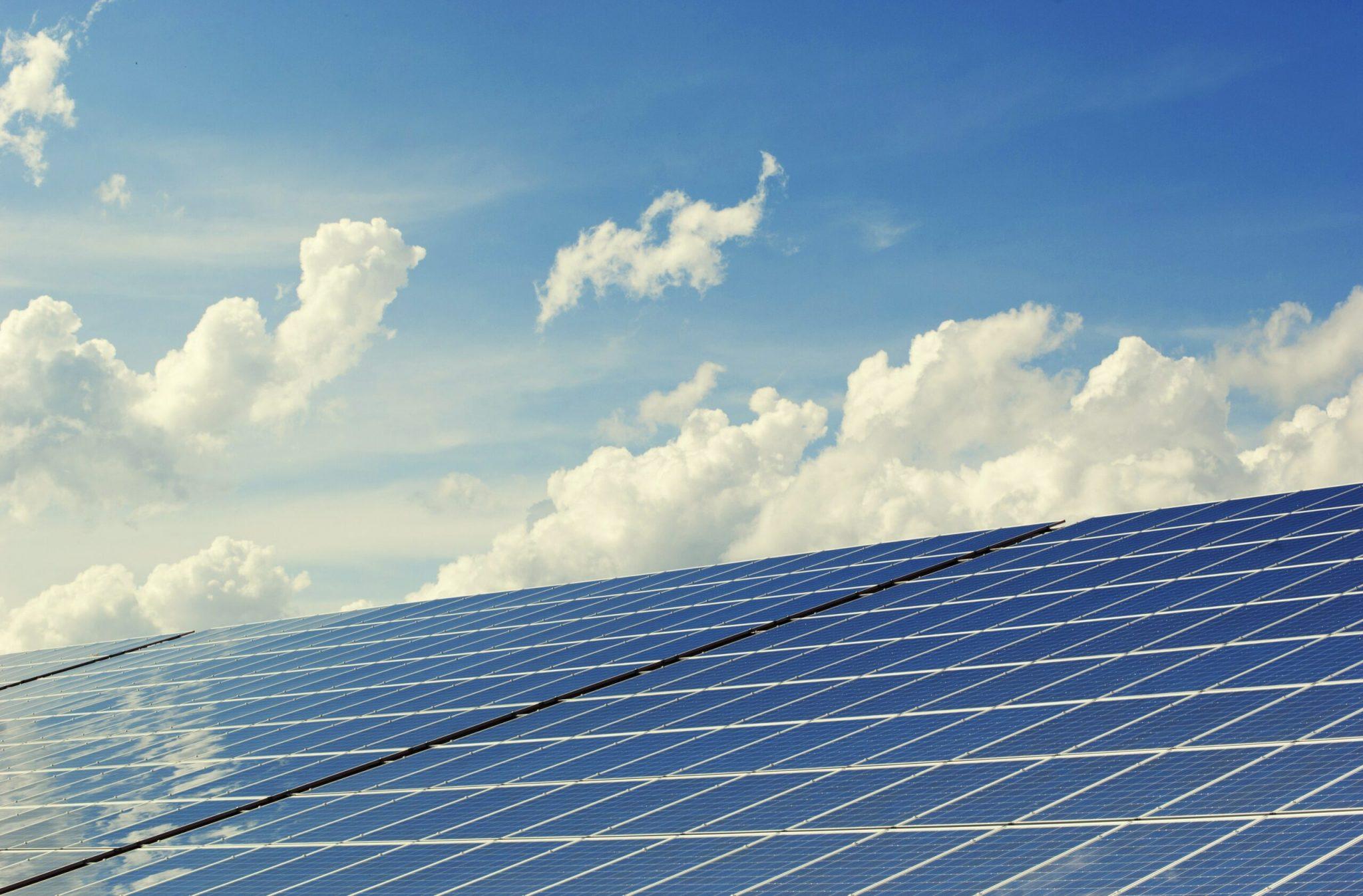 panneau solaire pour la RE 2020