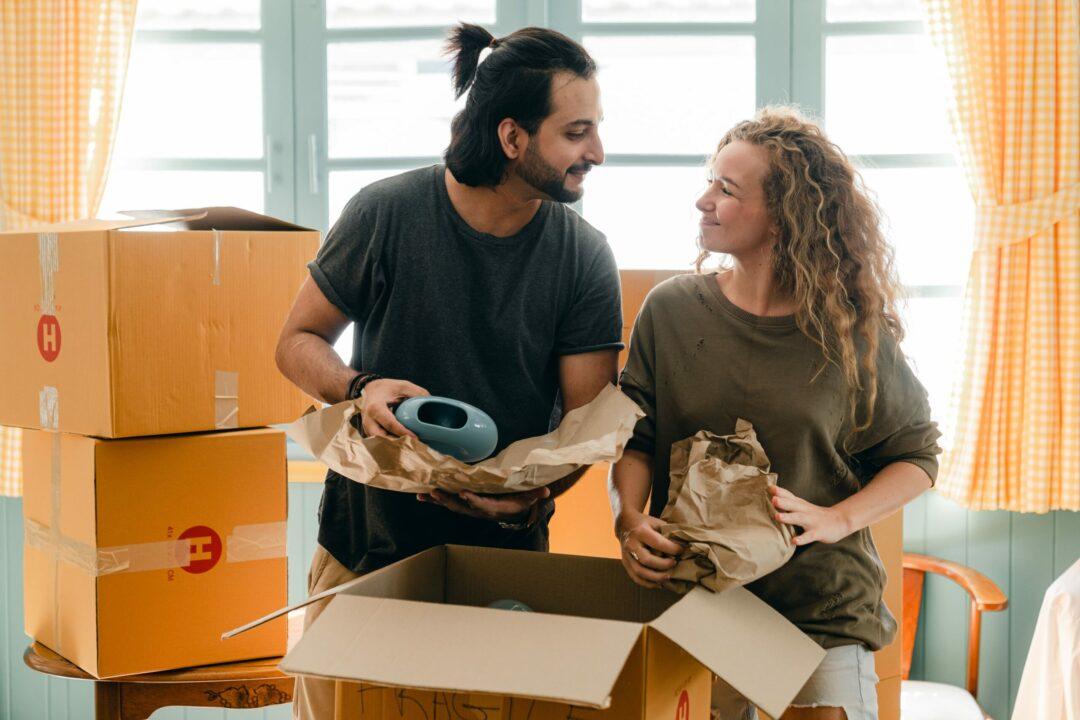 un couple profite de la loi pinel pour amenager dans un logement neuf